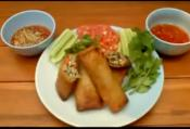 Thai Style Spring Rolls